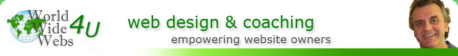 Web Coaching, Web Design, Web Development Services