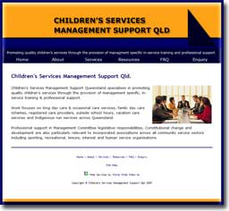 Children's Services Management Support Qld.