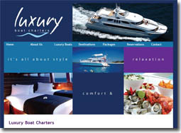 Luxury Boat Charters